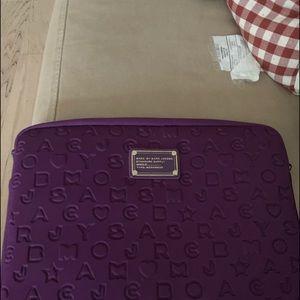 Used Marc Jacobs laptop sleeve